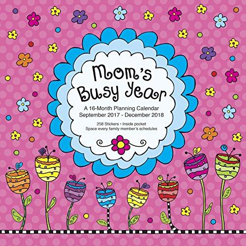 Avalon 2018 Mom's Busy Year Wall Calendar, 16 Months