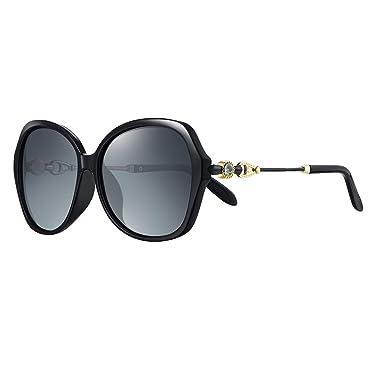 WHCREAT Gafas de Sol Polarizadas de Gran Tamaño Clásicas ...