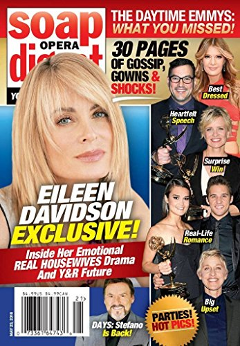 Eileen Davidson (Young & the Restless) l The 43rd Annual Daytime Emmy Awards - May 23, 2016 Soap Opera - Our Real Housewives