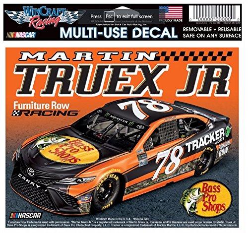 Bass Pro Shops NASCAR Martin Truex, Jr. #78 Multi-Use Window Decal