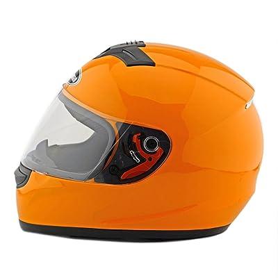 Moto Scooter casque de sécurité 168Orange