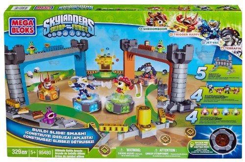 Mega Bloks Skylanders Battle Arena Super Set by Mattel Mega Bloks