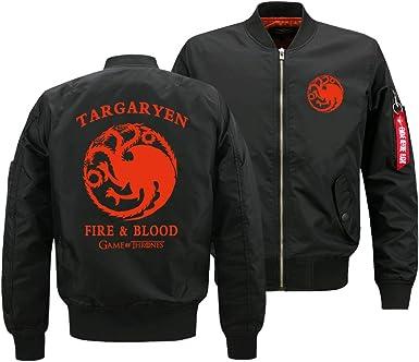 Game of Thrones Homme Blouson Bomber Veste Jacket Manteau