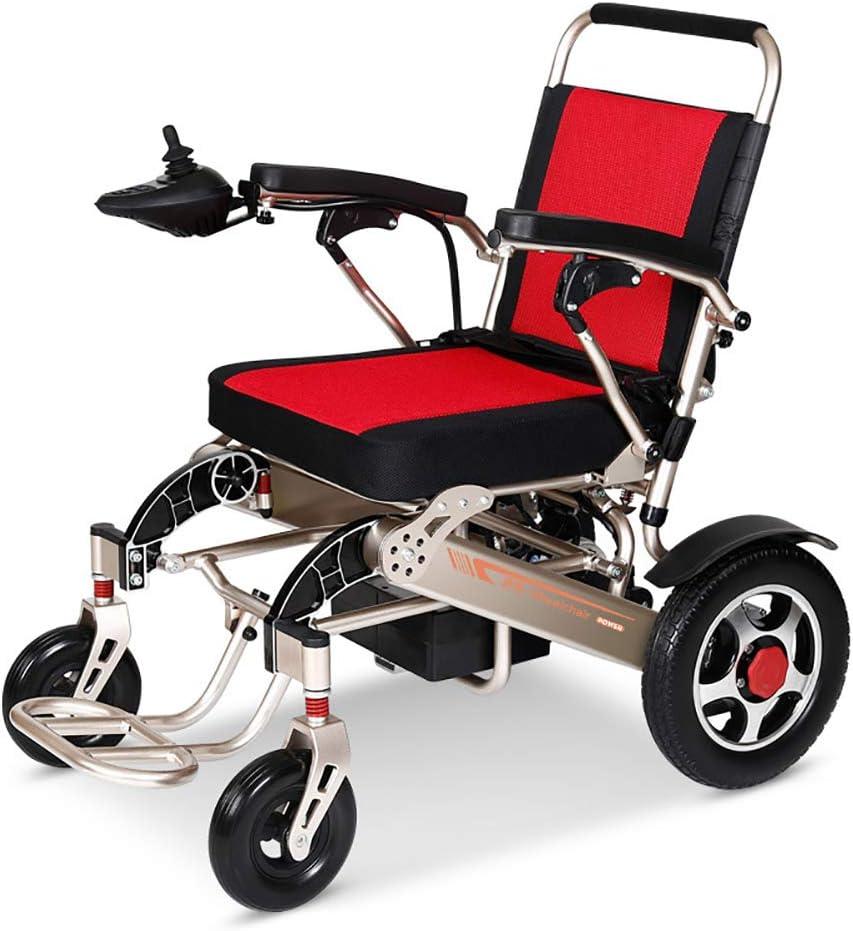 CHARON Sillas De Ruedas Eléctrica Plegable Power O Manual Scooter para Ancianos Fácil De Viajar Silla De Ruedas De Ayuda De Transporte Silla Compacta De Movilidad,Endurance20KM