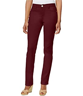 35a33e2f4b1 Style   Co. Petite Studded Straight-Leg Jeans at Amazon Women s ...