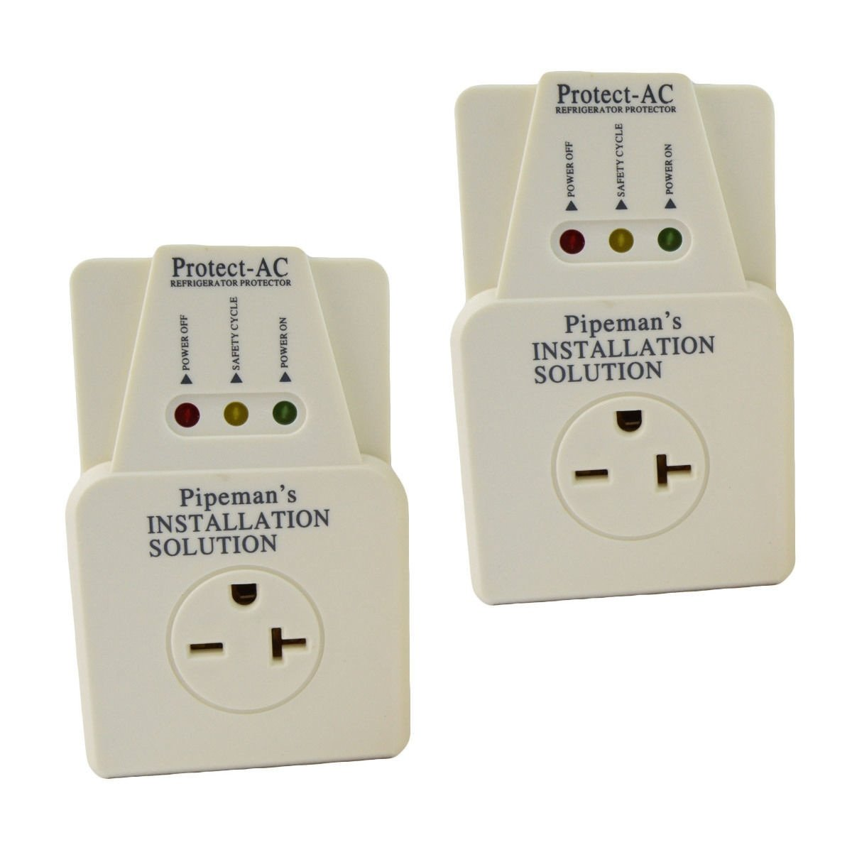 2 Pack Ac 220v Surge Brownout Voltage Protector 3600 Electronic Appliance Watts Conditioner Freezer Everything Else