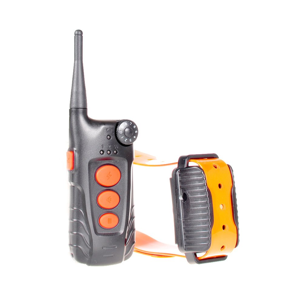 Aetertek At-218 Submersible Remote 1 Dog Training Shock Collar Auto Anti Bark Feature Rechargeable Collar Dogs 600yard