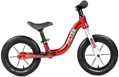 Bicicletas de equilibrio para niños KXBYMX Bicicletas for niños sin entrenamiento con pedales Bicicletas for niños con asas y asientos ajustables Bicicletas for niños aptas for niños de 2 a 6 años