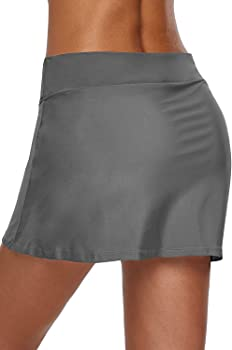 Dolamen Mujer Shorts de baño, trajes de baño Bañador Deportivo ...