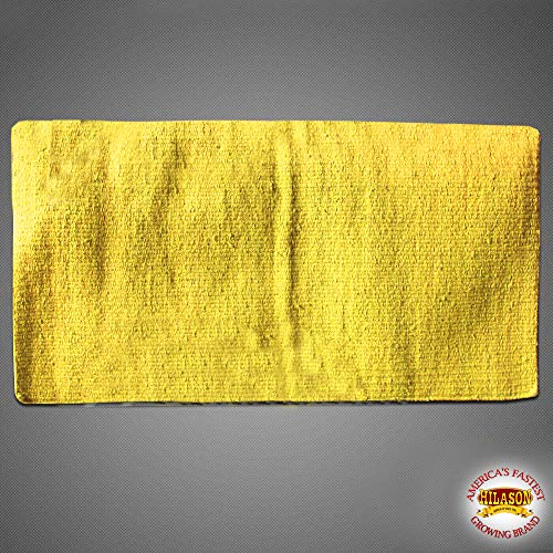 HILASON Made in USA Western New Zealand Wool Saddle Blanket Pad