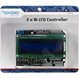 IDUINO LCD1602 Character LCD Input and Output Expansion Board Keypad Shield for Arduino