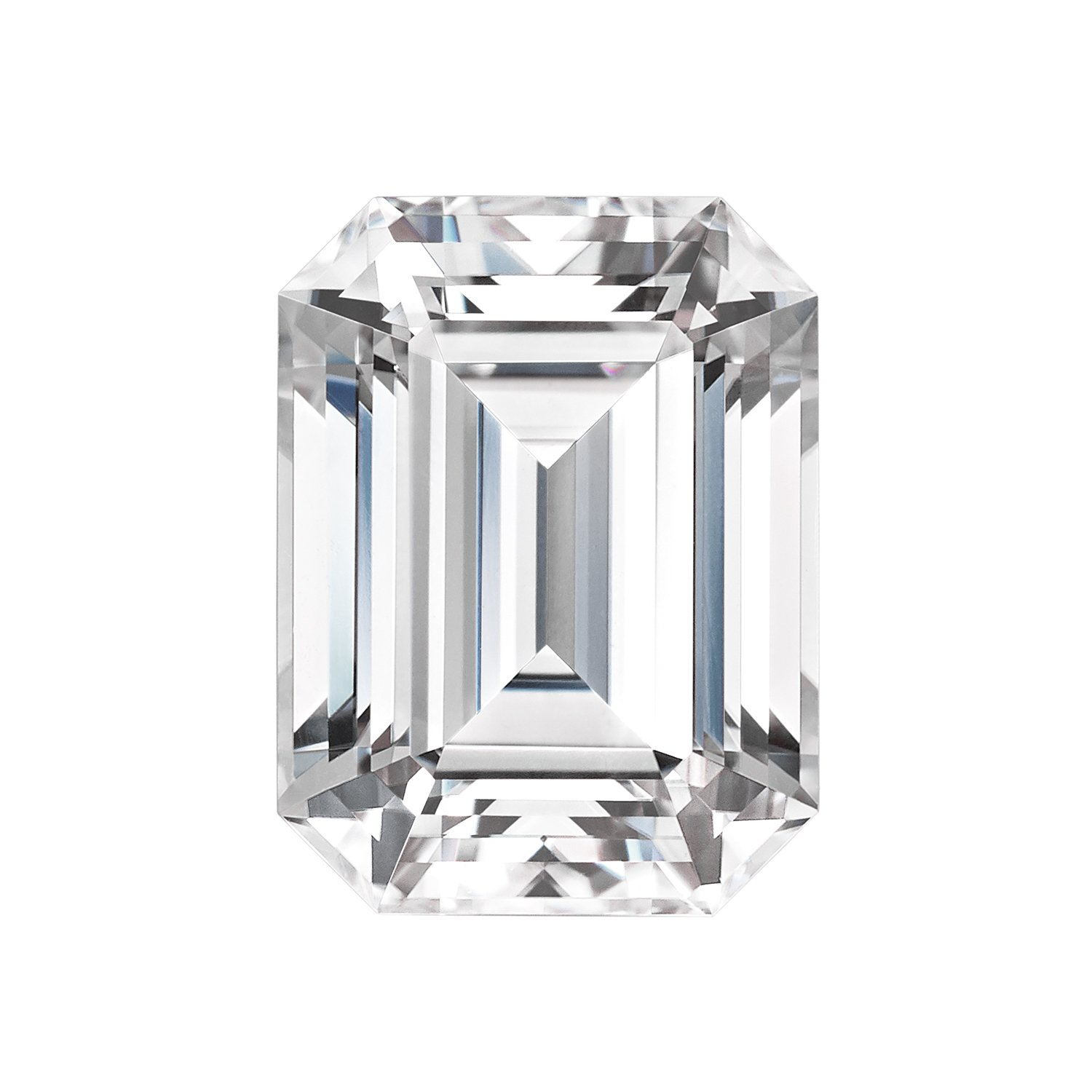 Forever One Emerald Cut Moissanite 9x7mm by Charles & Colvard, D-E-F color range