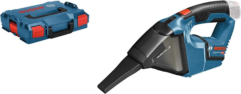 Bosch Professional GAS 12V - Aspirador a batería (12V, capacidad 0,35 l, 45 mbar, sin batería, en L-BOXX): Amazon.es: Bricolaje y herramientas
