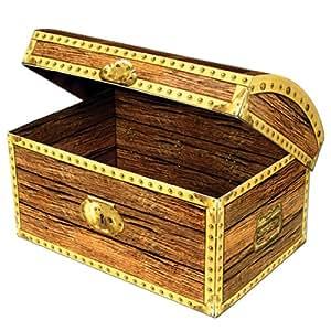 Treasure Chest Box Party Accessory (1 count) (1/Pkg)