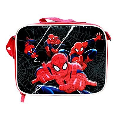 Marvel Spider-Man Web Warrior Insulated Lunch Box - Lunch Bag: Toys & Games