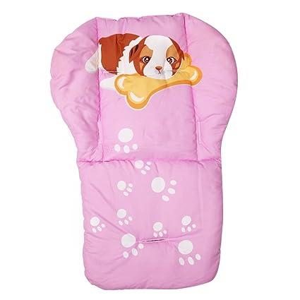 domybest Full algodón engrosamiento cochecito de bebé paraguas carro carro Dibujos Animados Cojín 4 #