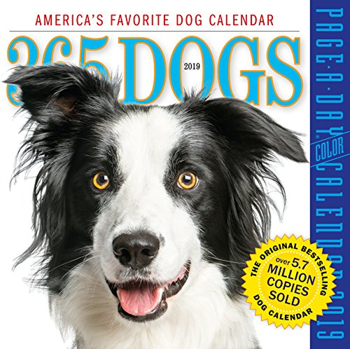 - 365 Dogs Color Page-A-Day Desk Calendar 2019 [6