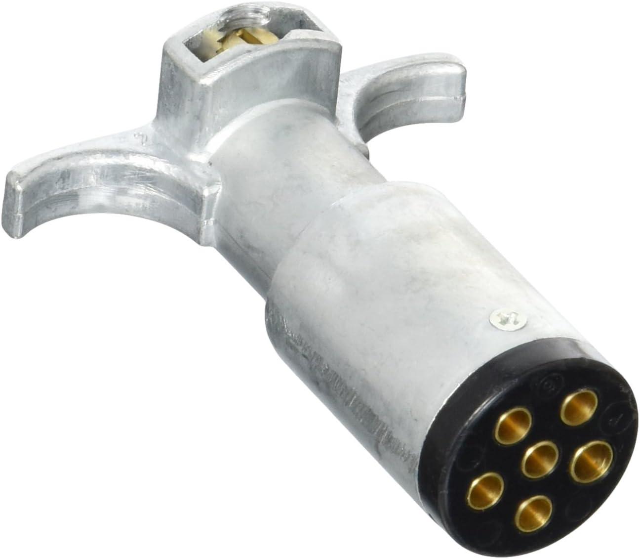 POLLAK 11-604EP Metal 6-Way Plug