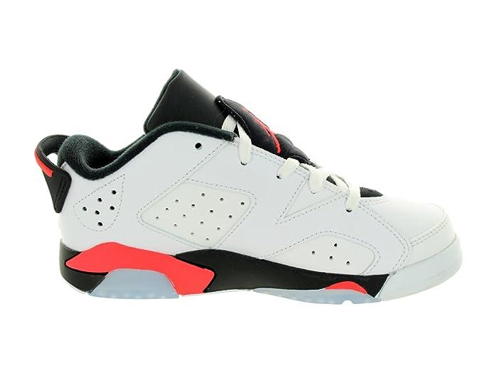 fd478256fef Amazon.com   JORDAN BOYS JORDAN RETRO 6 LOW SNEAKER White -  Footwear/Sneakers 2Y   Sneakers