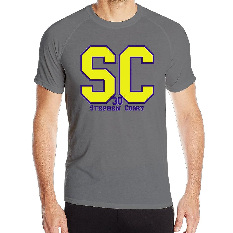 Candi Men's Curry 30# Short Sleeve Sports Summer Tshirt DeepHeather