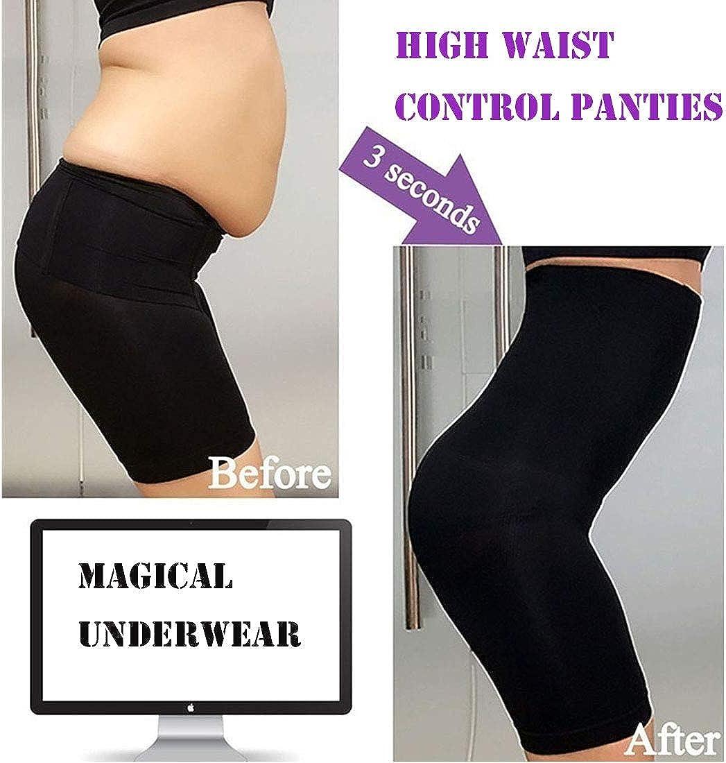 GARYOB Figurformende Miederhose Shapewear Damen Bauchweg Taillenformer Miederslip Miederpants Body Shaper