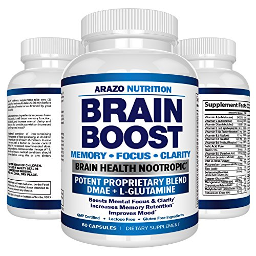 Premium Brain Function Supplement L Glutamine product image