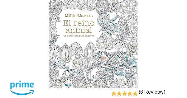 El Reino Animal. Una Aventura Para Colorear: Amazon.es: Millie ...