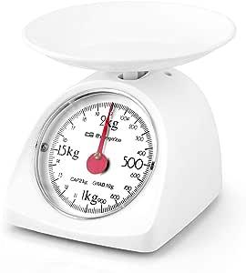 Orbegozo PC 1015 - Peso de cocina mecánico, capacidad máxima 2 kg, escalado 10 g, superficie de plástico lisa: Amazon.es: Hogar
