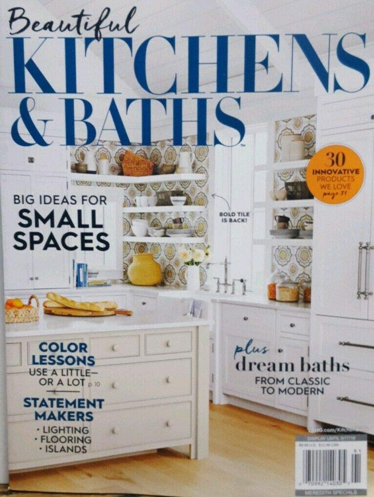 Beautiful Kitchens & Baths Spring 2019 Big Ideas Small ...