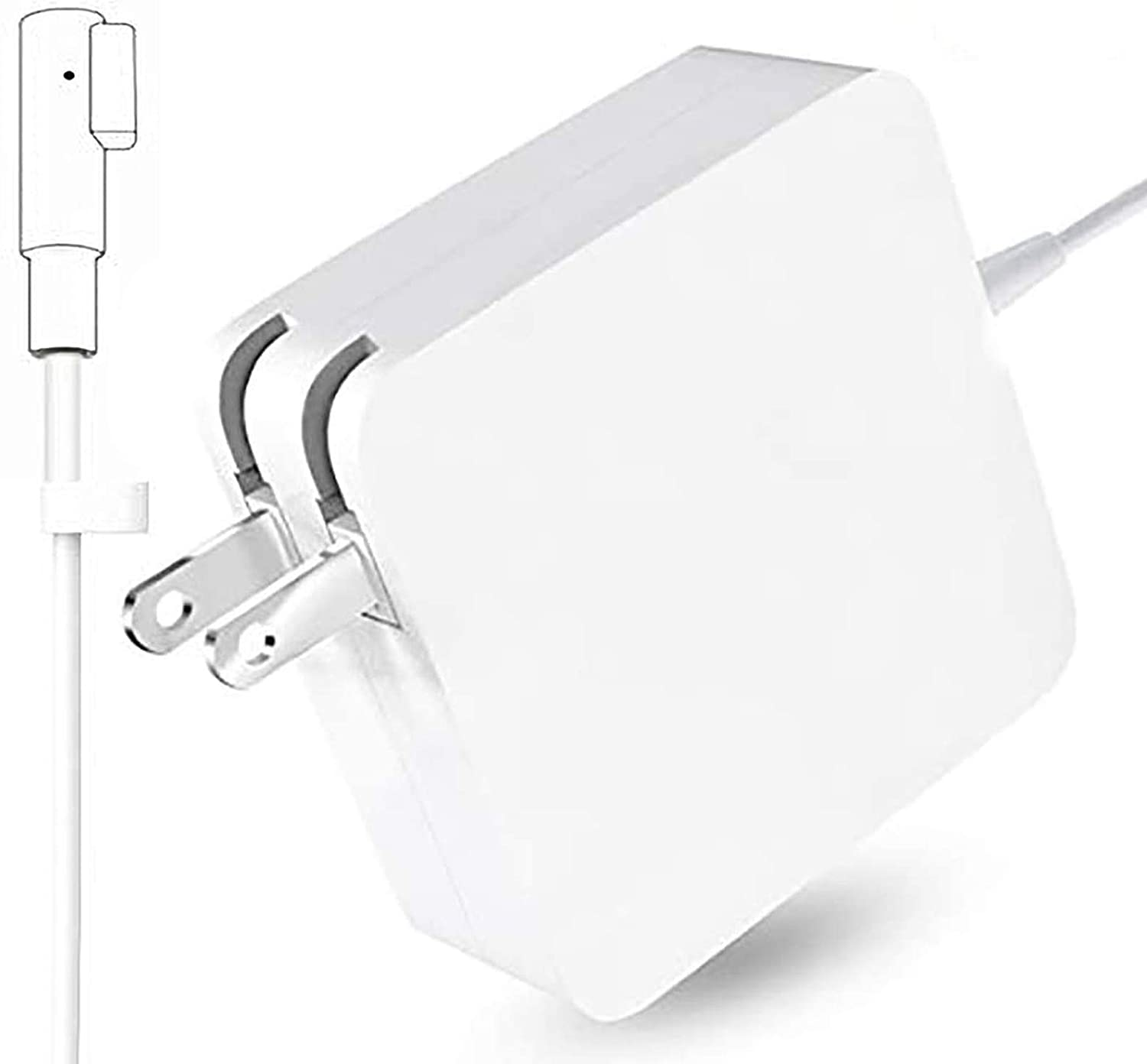 Mac Book Pro Charger, 60W Magsafe 1 Power Adapter L-Tip Magnetic Connector Charger for Mac Book Pro 13-inch (Before Mid 2012 Models)