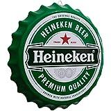 Placa Tampa de Garrafa Decorativa 35 cm Cerveja