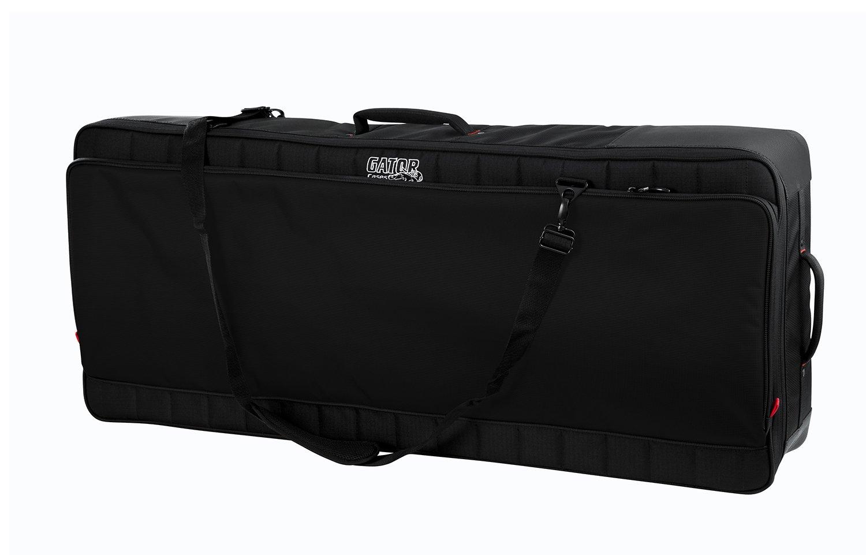Gator Cases Pro-Go Ultimate Keyboard Gig Bag with Removable Backpack Straps; Fits 61-Note Keyboards (G-PG-61)