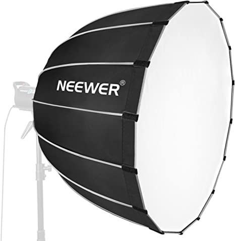 Neewer Hexadecagon Softbox 36 inches//90 Centimeters with Grey Rim and Bowens Mount Portable and Quick Folding Softbox Diffuser for Photography Speedlites Flash Monolight and More