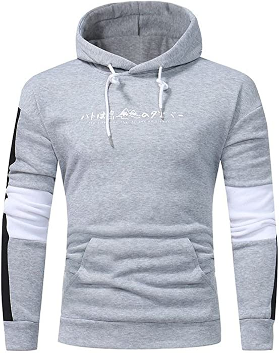eb0554232ea Amazon.com  SamMoSon 2019 Sweatshirts for Men Big and Tall