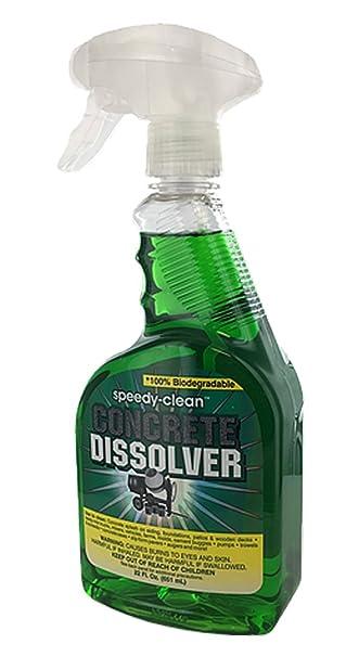 Speedy Clean Concrete Dissolver