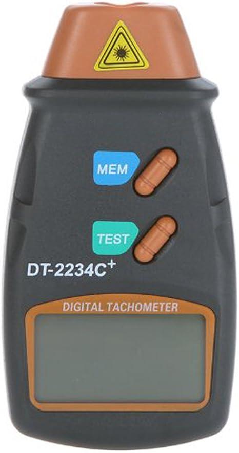 Digital Laser Umdrehungsmesser Berührungsloser Tachometer Drehzahlmesser  DE
