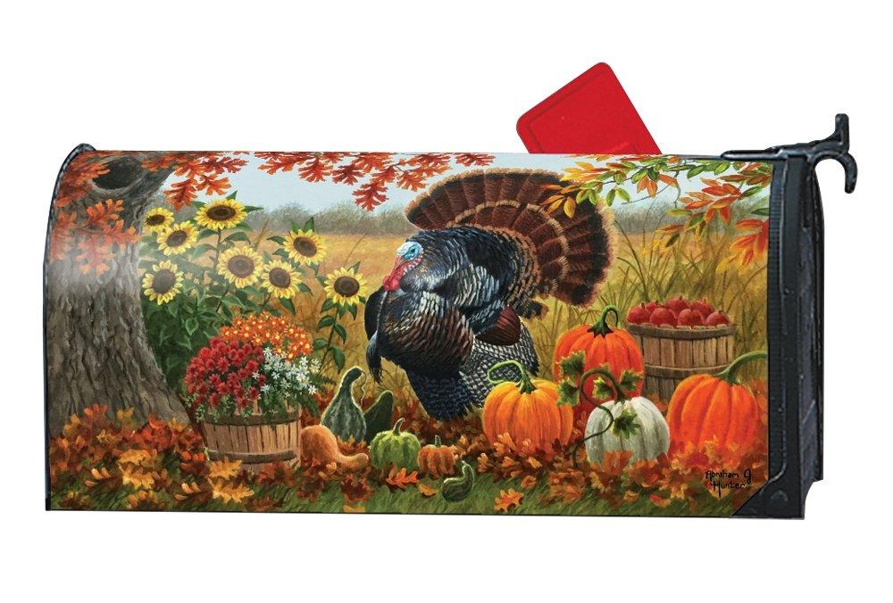 Studio M Thanksgiving Outdoor Mailbox Cover MailWrap - Turkey Pride by Studio M