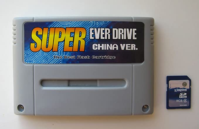 Super Nintendo SNES/SFC Super Everdrive Flash Cart With 8GB ...