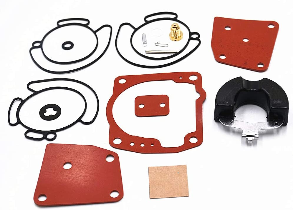 Carbman 438996 Carburetor Rebuild Repair Kit for Johnson Evinrude 438996 435442 436852 18-7247 V4 V6 90 115 125 150 175 HP Carb