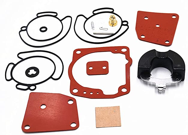 New Carburetor Rebuild Kit For JOHNSON EVINRUDE V4 V6 90 115 125 150 175 HP 438996 18-7247 CARB
