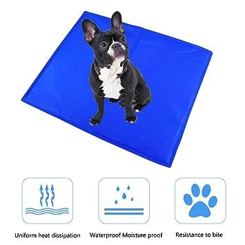 Amazon Com Zlbpet Dog Self Cooling Mat Active Gel Filling