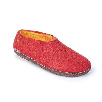 4e0446eabdcaa Betterfelt Hand Felted Wool Slippers for Women and Men - Hide or ...