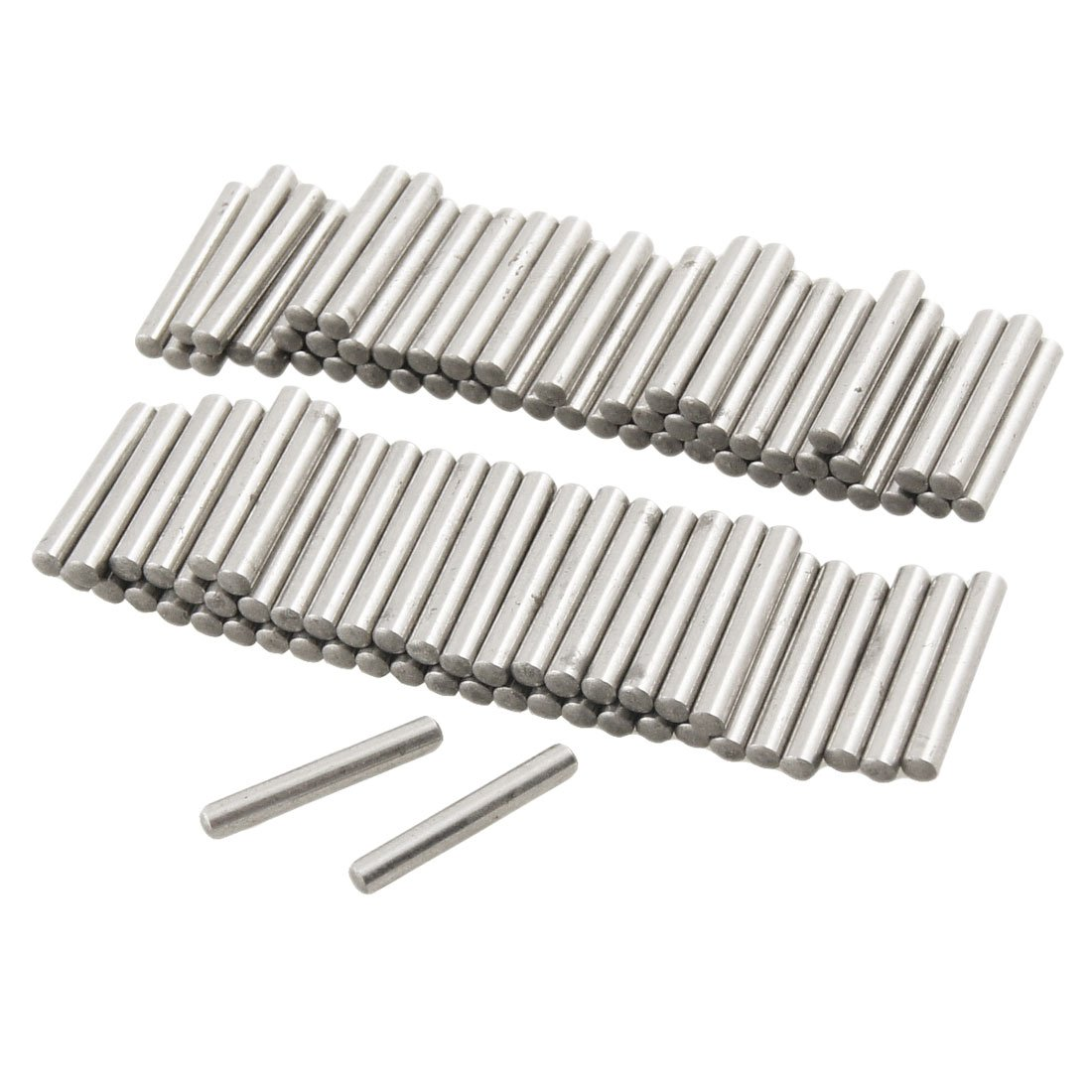 100 Pcs Stainless Steel 2.5mm x 15.8mm Dowel Pins Fasten Elements Sourcingmap a12042300ux0524