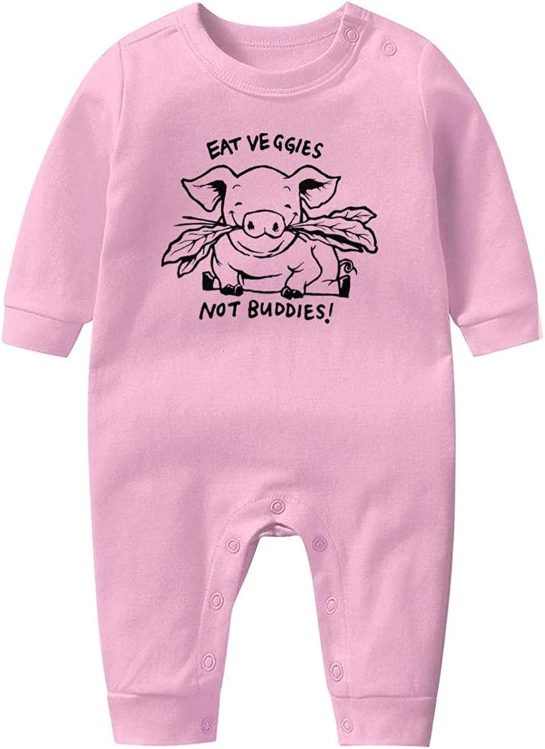 I Dont Give a Flock Flamingo Baby Boys Girls Long Sleeve Baby Onesie Babys Creeper