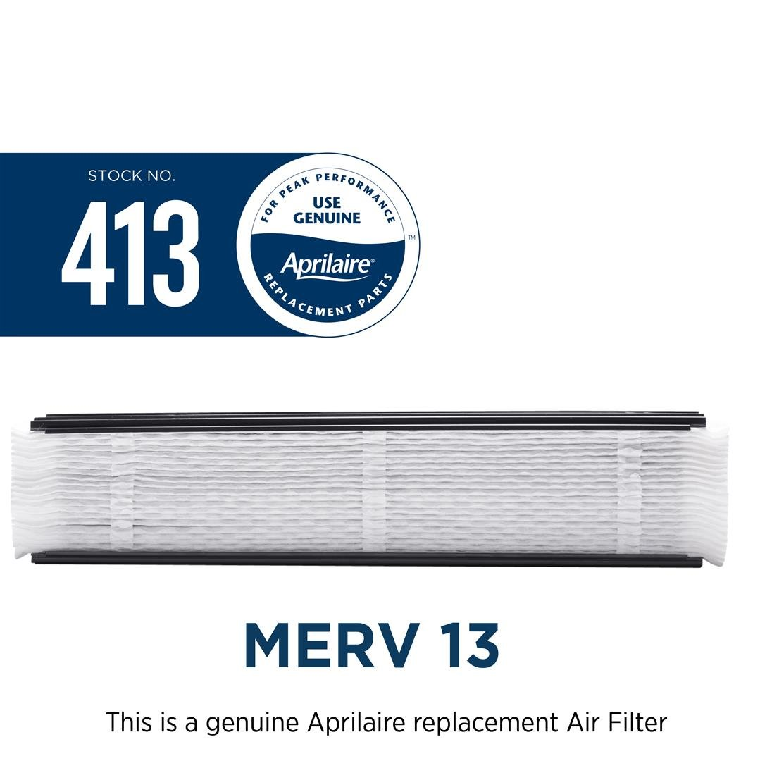 Aprilaire 413 Air Filter for Air Purifier Models 1410, 1610, 2410, 3410, 4400, 2400; Pack of 8 by Aprilaire (Image #4)