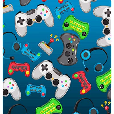 5D DIY Diamond Painting Kits Video Game Controllers Gamer Fun Colorful Full Drill Painting Arts Craft Canvas for Home Wall Decor Full Drill Cross Stitch Gift 16X20 Inch: Toys & Games