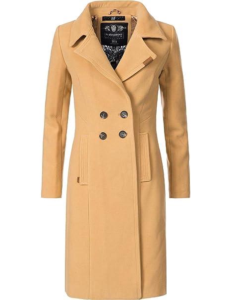 check out c56a5 20f93 Navahoo Damen Wintermantel Winterparka Wooly 5 Farben XS-XXL