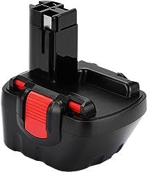 Shentec 3.5Ah Ni-MH para Bater/ía Bosch 18V BAT025 BAT026 BAT160 BAT180 BAT181 BAT189 2607335266 2607335278 2607335536 2607335680 2607335688 2607335696 2610909020 reubicaci/ón para