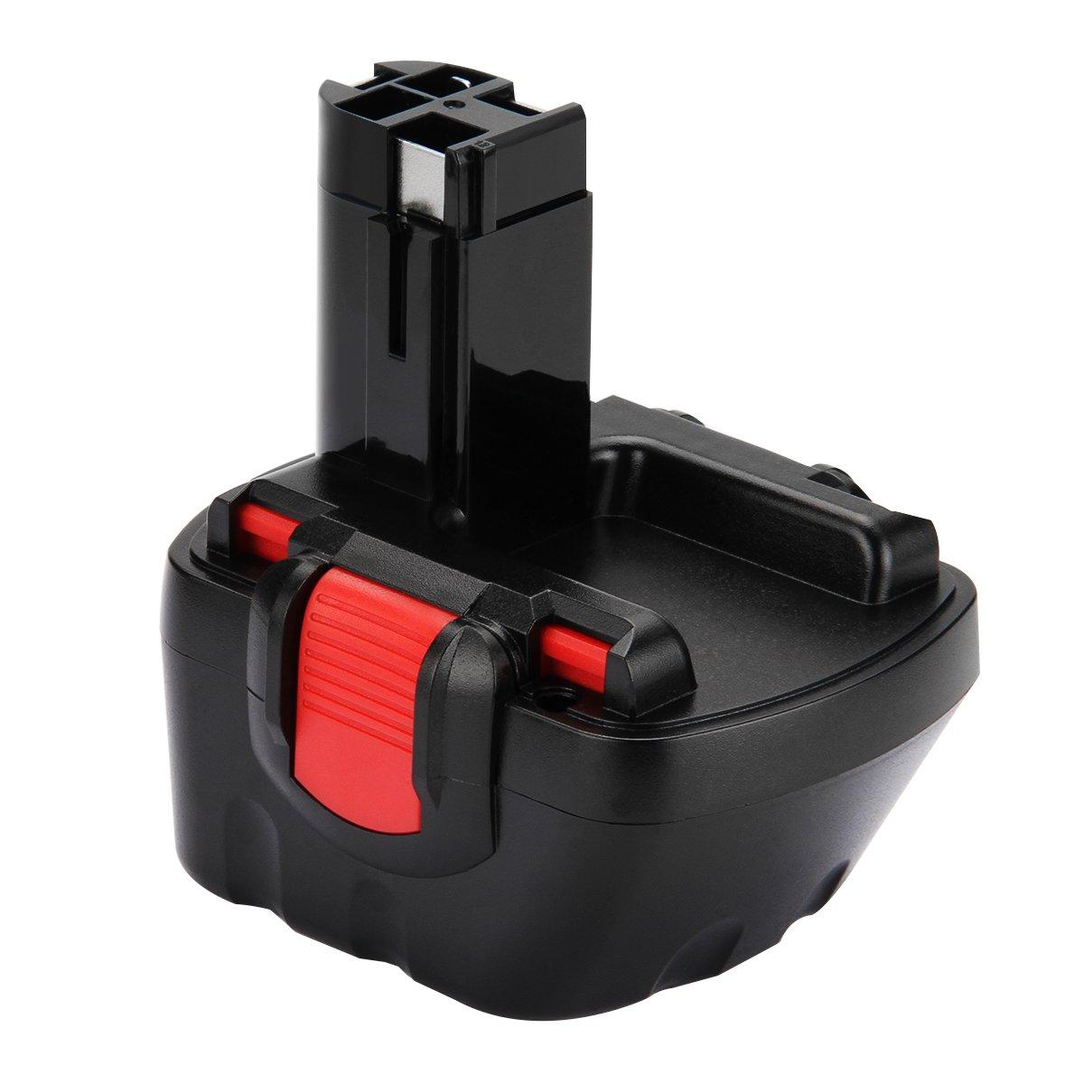 Creabest 3.0Ah Ni-MH Batería de repuesto para Bosch 12V BAT043 BAT045 BAT120 BAT139