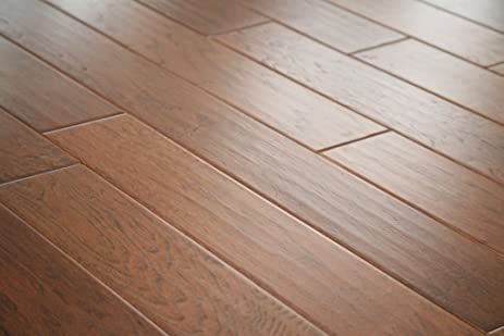 Max Windsor Floors TLEHY0708 5 Handscraped Engineered Hardwood, Mountain  Hickory